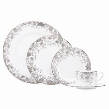 French Lace 5 Piece Place Setting