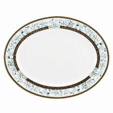 """Palatial Garden 13"""" Oval Platter"""