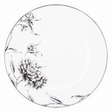 Floral Illustrations Dinner Plate