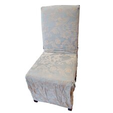 <strong>Textiles Plus Inc.</strong> Jacquard Scroll Dining Chair Slipcover