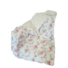 Rose Perfume French Rose Cotton Throw