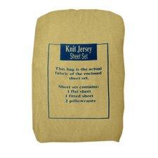 Knit Jersey Sheet Set