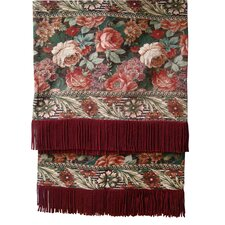 <strong>Textiles Plus Inc.</strong> Royal Floral Tapestray Throw