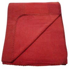 Fleece Polyester Throw