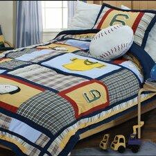 <strong>Textiles Plus Inc.</strong> Baseball Comforter Set