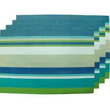 "12"" x 18""  Woven Vinyl Placemat (Set of 4)"