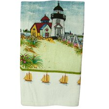 Printed Light House Kitchen Towel (Set of 2)