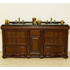 "Stockton 72"" Double Bathroom Vanity Set"