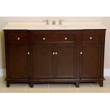 "<strong>Global Treasures</strong> Vera 60"" Single Sink Vanity Set"