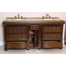 "Naples 72"" Sink Cabinet Bathroom Vanity Set"