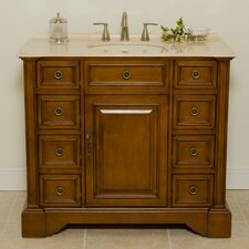 "Cheryl 41"" Sink Cabinet Bathroom Vanity Set"