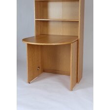 Rumba Tall Shelf Unit Bookcase with Compact Table