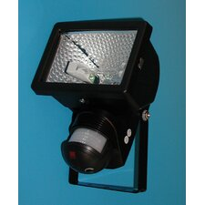 Luxomat Automatic Halogen Security Wall Semi-Flush Light