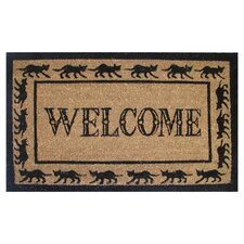 Welcome / Goodbye Doormat