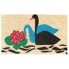 <strong>Imports Decor</strong> Swans Doormat