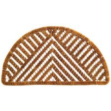 Spiral Semi Circle Triangle Doormat