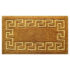 <strong>Imports Decor</strong> Greek Key Doormat