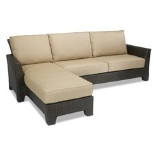 Malibu Sectional Sofa with Cushions