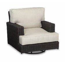 Cardiff Swivel Rocking Club Chair with Cushions