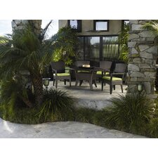 <strong>Sunset West</strong> Malibu 5 Piece Dining Set