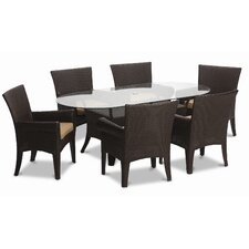 <strong>Sunset West</strong> Santa Barbara 7 Piece Dining Set
