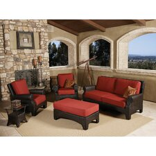 <strong>Sunset West</strong> Santa Barbara Deep Seating Group with Cushions