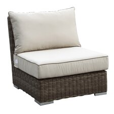 <strong>Sunset West</strong> Coronado Armless Club Chair with Cushions
