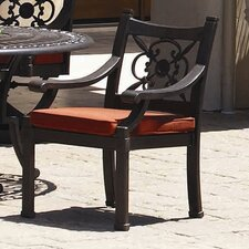 Del Mar Dining Arm Chair with Cushion