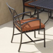 <strong>Sunset West</strong> La Jolla Dining Arm Chair with Cushion