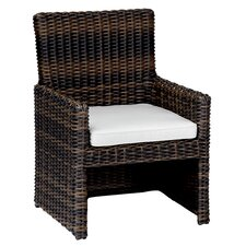 <strong>Sunset West</strong> Montecito Dining Arm Chair with Cushion