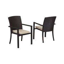 <strong>Sunset West</strong> Solana Dining Arm Chair with Cushion