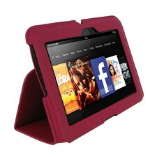 Ultra-Slim Vegan Leather Case Cover for Kindle Fire HD 7