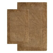<strong>Chesapeake Merchandising Inc.</strong> Bella Napoli Contemporary Bath Rug (Set of 2)