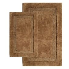 <strong>Chesapeake Merchandising Inc.</strong> Olympia Contemporary Bath Rug (Set of 2)
