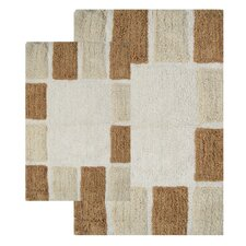 <strong>Chesapeake Merchandising Inc.</strong> Mosaic Tiles 2 Piece Bath Rug Set
