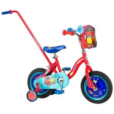 <strong>Chuggington</strong> BMX Push Handle Cruiser Bike