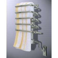 "<strong>Wesaunard</strong> Boz Roqoqo 17.7"" Wall Mount Electric Towel Warmer"