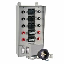 <strong>Reliance Controls</strong> Pro / Tran 30 Amp Transfer Switch with 10 Circuit Breaker