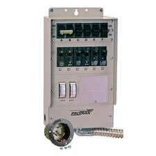 Pro / Tran Q Series Transfer Switch for Generator with 6 Circuit Breaker