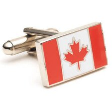 Canadian Flag Cufflinks
