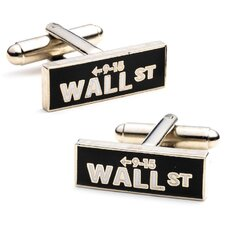 Vintage Wall Street Cufflinks
