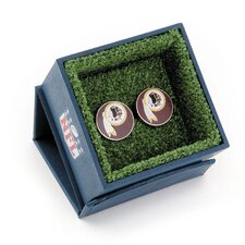 NFL Silver Plated Cufflinks