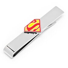 DC Enamel Superman Shield Tie Bar