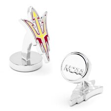 NCAA Arizona State Sun Devils Pitchfork Cufflinks