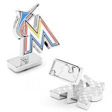 MLB Miami Marlins Cufflinks