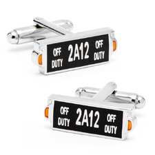 NYC Taxi Sign Cufflinks