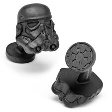 Star Wars 3D Storm Trooper Helmet Cufflinks