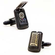 Star Trek Brass 3D Communicator Cufflinks