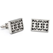 Onyx Rectangle Cufflinks