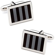 Striped Mosaic Cufflinks